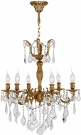 Worldwide W83328FG23 Versailles French Gold Mini Lighting Chandelier