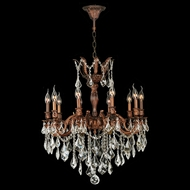 Worldwide W83340FG26 Versailles French Gold Clear 26 Chandelier Lighting