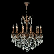 Worldwide W83341FG27 Versailles French Gold Clear 27 Chandelier Light