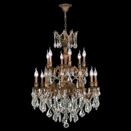 Worldwide W83350FG27 Versailles French Gold Clear 27 Lighting Chandelier