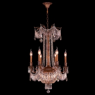 Worldwide W83356FG20-CL Winchester French Gold Clear 20 Lighting Chandelier
