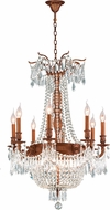 Worldwide W83356FG24-CL Winchester French Gold Ceiling Chandelier
