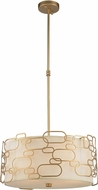 Worldwide W83443MG20 Montauk Modern Matte Gold 20  Pendant Hanging Light