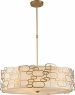 Worldwide W83445MG31 Montauk Modern Matte Gold 31  Ceiling Light Pendant
