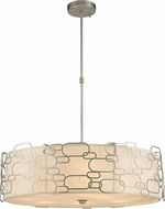 Worldwide W83445MN31 Montauk Contemporary Matte Nickel 31  Ceiling Pendant Light