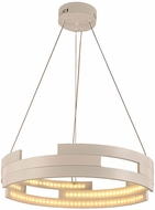 Worldwide W83469W22 Nexus  Modern White LED 22  Pendant Lighting