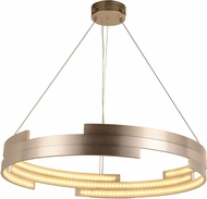 Worldwide W83470MN32 Nexus  Modern Matte Nickel LED 32  Lighting Pendant
