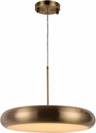Worldwide W83553BP24 Madison Modern Antique Bronze LED 24  Ceiling Light Pendant