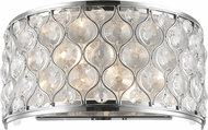 Worldwide WS410C12-CL Paris Polished Chrome Lighting Sconce
