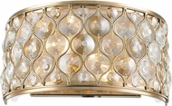 Worldwide WS410CG12-CM Paris Champagne Gold Lamp Sconce