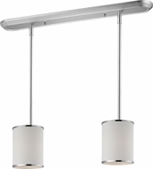 Z-Lite 164-6-2 Cameo Chrome 6  Wide Multi Drop Ceiling Light Fixture