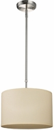 Z-Lite 171-12C Albion Brushed Nickel 12  Wide Drum Drop Lighting