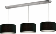 Z-Lite 171-16-3B Albion Brushed Nickel 16  Wide Multi Drum Ceiling Light Pendant