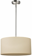 Z-Lite 171-16C-C Albion Brushed Nickel 16  Wide Drum Pendant Lighting