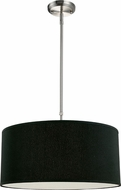 Z-Lite 171-20B-C Albion Brushed Nickel 20  Wide Drum Lighting Pendant