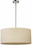 Z-Lite 171-24C-C Albion Brushed Nickel 24  Wide Drum Pendant Light Fixture