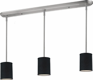 Z-Lite 171-6-3B Albion Brushed Nickel 48  Tall Multi Hanging Light Fixture