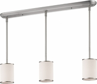 Z-Lite 183-6-3 Cameo Brushed Nickel White Multi Drop Lighting