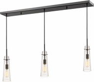 Z-Lite 188MP-3BRZ Monte Modern Bronze Clear Seedy Multi Ceiling Light Pendant