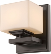 Z-Lite 1914-1S-BRZ-LED Cuvier Bronze LED Wall Sconce Lighting