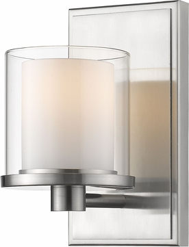 Z-Lite 1918-1S-BN-LED Schema Brushed Nickel Wall Sconce