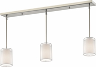 Z-Lite 192-6-3W Sedona Modern Brushed Nickel White/ Super White Multi Hanging Lamp
