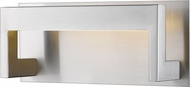 Z-Lite 1925-1S-BN-LED Linc Contemporary Brushed Nickel LED 12  Bathroom Vanity Light Fixture