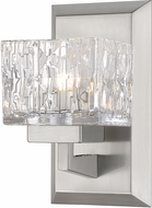 Z-Lite 1927-1S-BN Rubicon Modern Brushed Nickel Halogen Wall Sconce