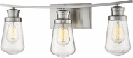 Z-Lite 1928-3V-BN Gaspar Modern Brushed Nickel 3-Light Bathroom Vanity Light