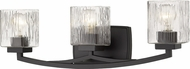 Z-Lite 1929-3V-BRZ Zaid Modern Bronze 3-Light Bathroom Lighting