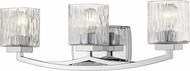 Z-Lite 1929-3V-CH Zaid Contemporary Chrome 3-Light Lighting For Bathroom