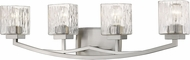 Z-Lite 1929-4V-BN Zaid Modern Brushed Nickel 4-Light Bath Lighting