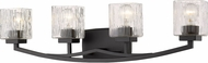 Z-Lite 1929-4V-BRZ Zaid Contemporary Bronze 4-Light Bathroom Light