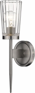 Z-Lite 1932-1S-AN Flair Antique Nickel Wall Lighting