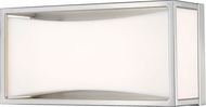 Z-Lite 1933-8BN-LED Baden Contemporary Brushed Nickel LED 10  Bathroom Lighting