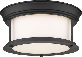 Z-Lite 2011F10-MB Sonna Modern Matte Black Ceiling Light