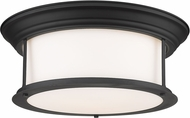 Z-Lite 2011F16-MB Sonna Modern Matte Black Flush Lighting