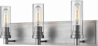 Z-Lite 3000-3V-OS Persis Contemporary Old Silver 3-Light Bathroom Light Fixture