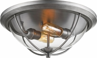 Z-Lite 3000F2-OS Persis Modern Old Silver Ceiling Lighting