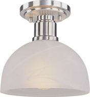 Z-Lite 314F-BN Chelsey Brushed Nickel 7.75  Tall Flush Mount Lighting Fixture