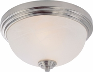 Z-Lite 314F2-BN Chelsey Brushed Nickel 6.375  Tall Flush Lighting