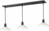 Z-Lite 322-13MP-3BRZ Forge Modern Bronze Clear Multi Drop Ceiling Lighting
