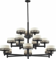 Z-Lite 329-15-BRZ Elea Bronze 48.875  Wide Lighting Chandelier