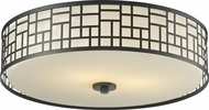 Z-Lite 329F20-BRZ Elea Bronze 20.5  Wide Overhead Lighting