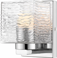 Z-Lite 336-1S-CH-LED Barrett Contemporary Chrome LED Lighting Wall Sconce