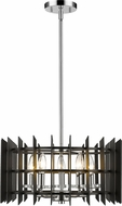 Z-Lite 338-18MB-CH Haake Modern Chrome 17  Ceiling Pendant Light