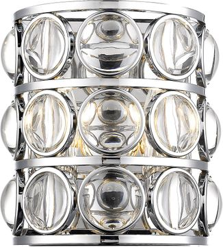 Z-Lite 4004-2S-CH Eternity Chrome Wall Sconce