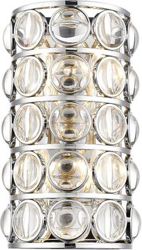 Z-Lite 4004-4S-CH Eternity Chrome Wall Lamp