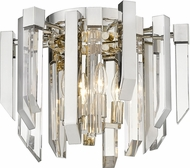 Z-Lite 4006F-PN Bova Polished Nickel Ceiling Light Fixture