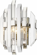 Z-Lite 4006S-PN Bova Polished Nickel Wall Lighting Sconce